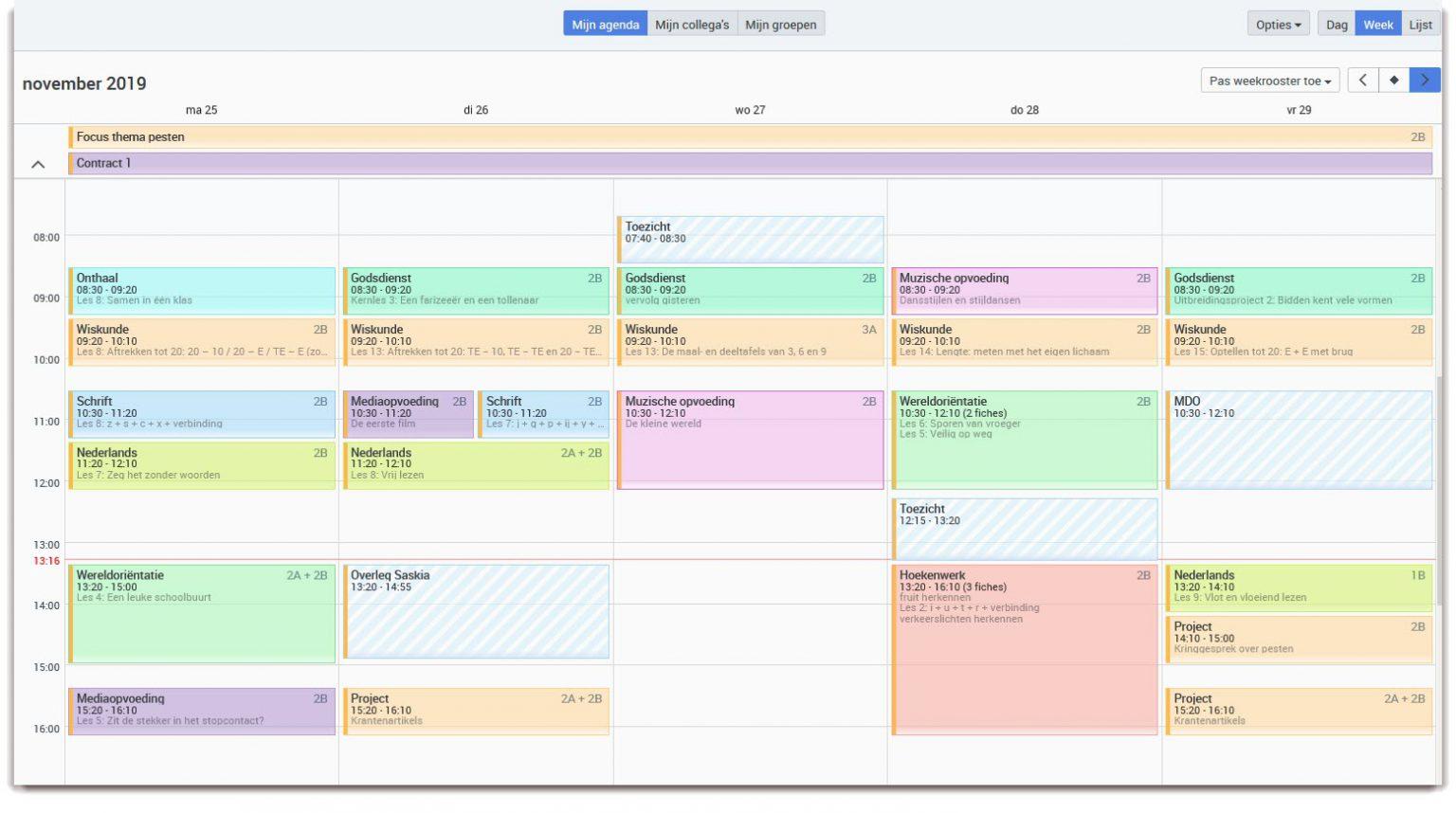 Bingel Planner planning