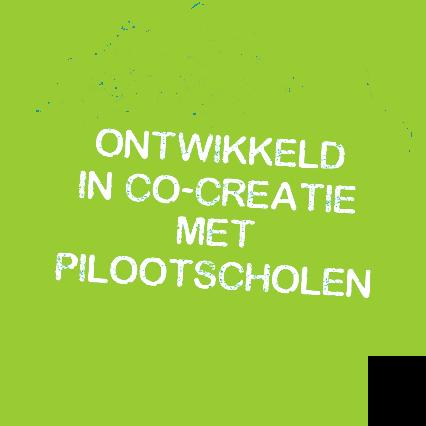 Ontwikkeld in co-creatie met pilootscholen