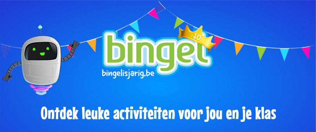 Bingel is jarig